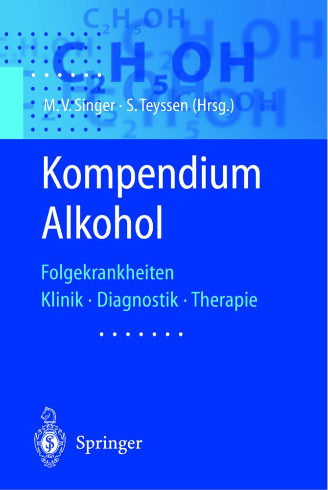 Kompendium Alkohol als Buch