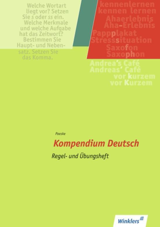 Kompendium Deutsch als Buch