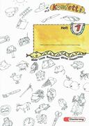 Konfetti-Heft 1. Mit Anlauttabelle A 4