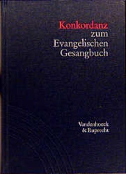 Konkordanz zum Evangelischen Gesangbuch als Buch (gebunden)