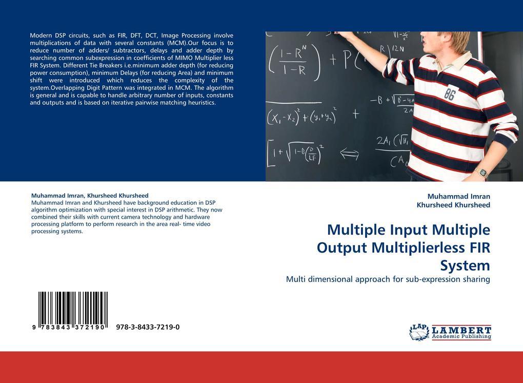 Multiple Input Multiple Output Multiplierless F...