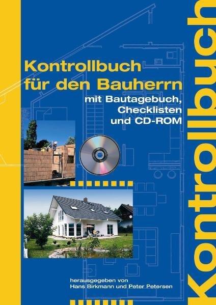 Kontrollbuch für den Bauherrn als Buch