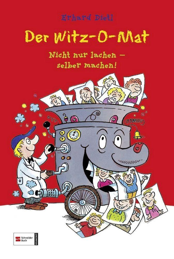 Der Witz-O-Mat als Buch von Erhard Dietl