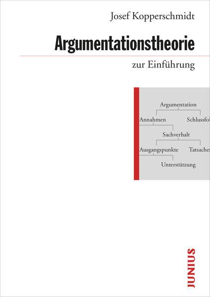 Argumentationstheorie zur Einführung als Buch (gebunden)