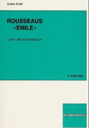 Rousseaus Emile als Buch