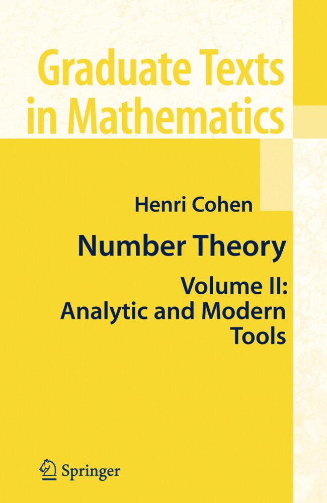 Number Theory als Buch von Henri Cohen