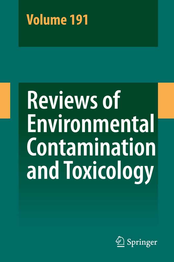 Reviews of Environmental Contamination and Toxicology 191 als Buch (kartoniert)