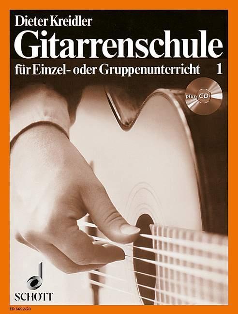 Gitarrenschule für Einzel- oder Gruppenunterricht 1. Inkl. CD als Buch