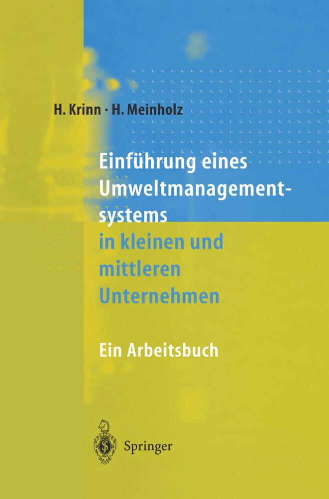 Einführung eines Umweltmanagementsystems in kleinen und mittleren Unternehmen als Buch