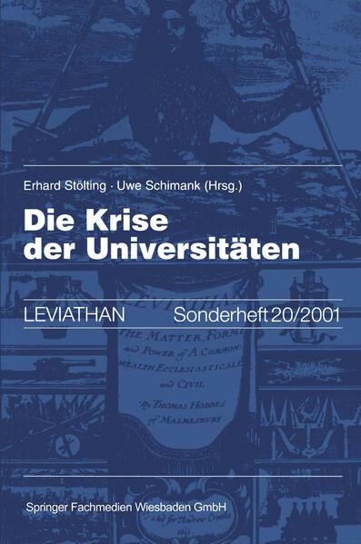 Die Krise der Universitäten als Buch