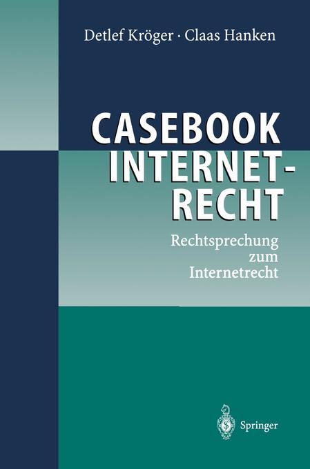Casebook Internetrecht als Buch