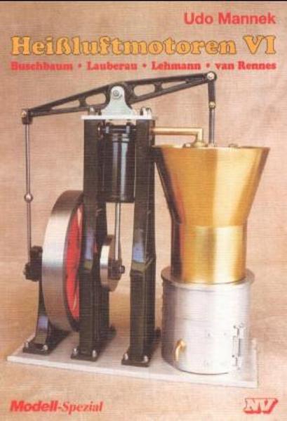 Heißluftmotoren 6 als Buch