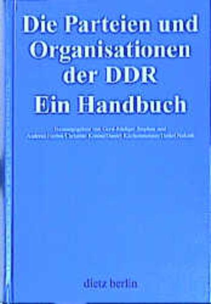 Die Parteien und Organisationen der DDR als Buc...