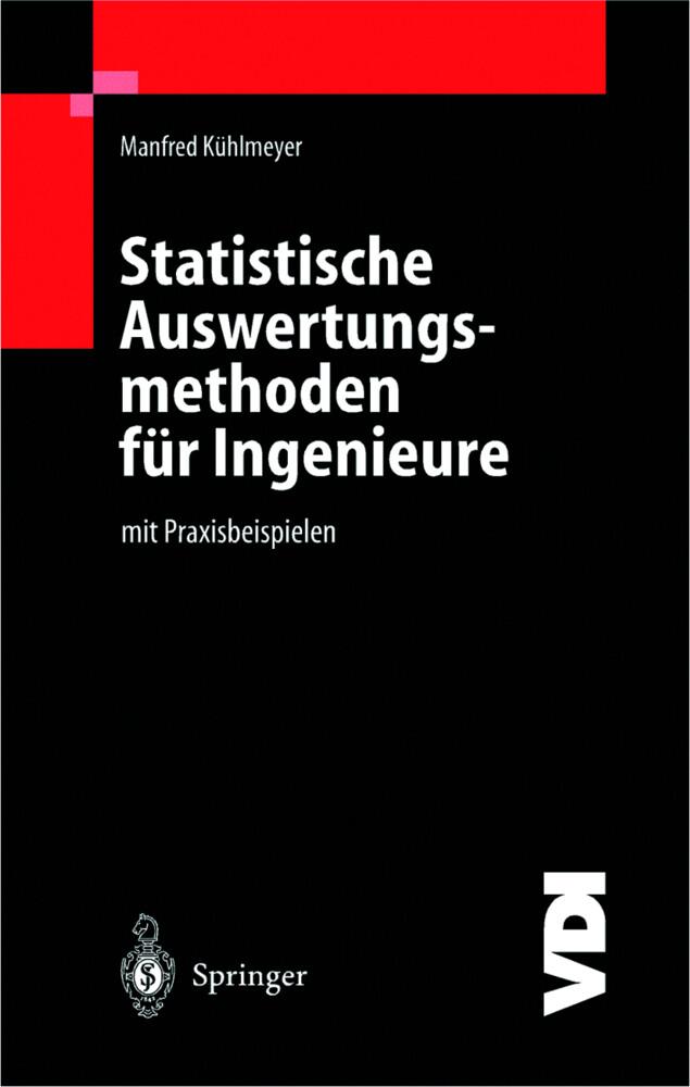 Statistische Auswertungsmethoden für Ingenieure als Buch