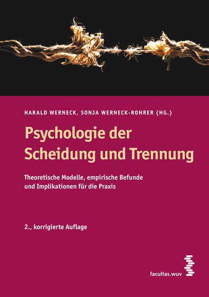 Psychologie der Scheidung und Trennung als Buch...
