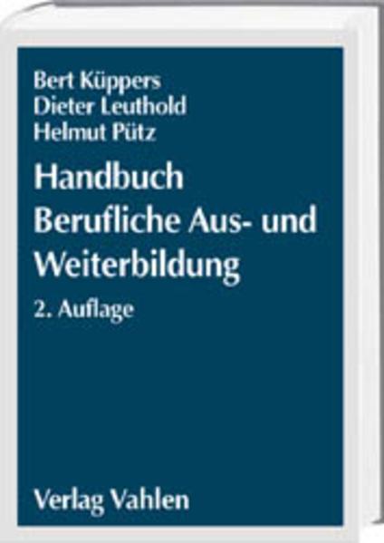 Handbuch Berufliche Aus- und Weiterbildung als Buch (gebunden)