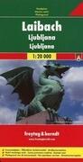 Laibach / Ljubljana 1 : 20 000 Stadtplan