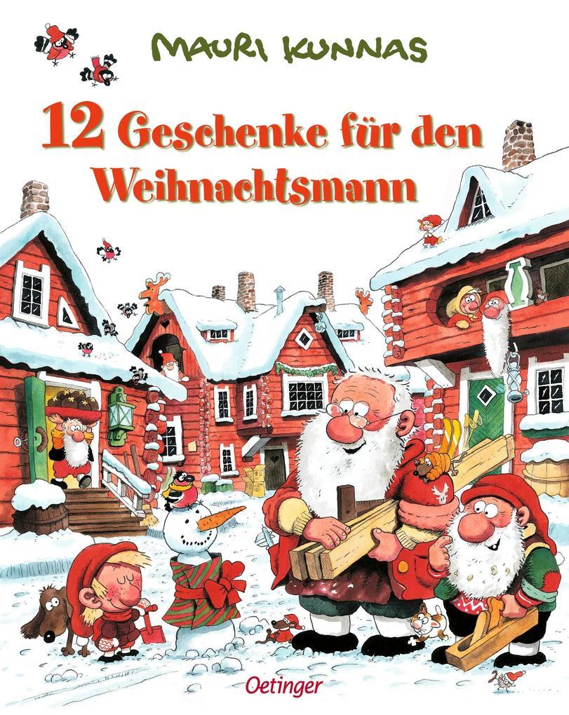 Zwölf Geschenke für den Weihnachtsmann als Buch