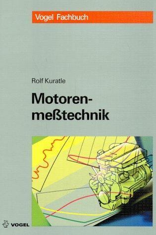 Motorenmeßtechnik als Buch