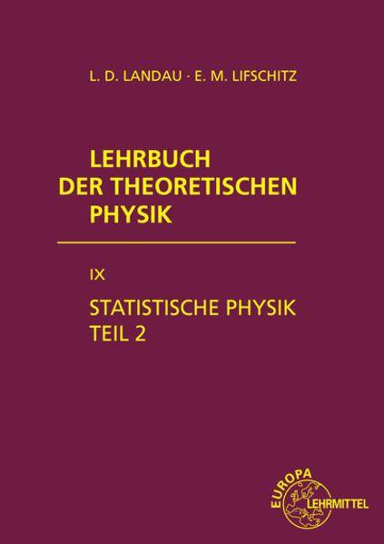 Statistische Physik. Tl.2 als Buch (gebunden)