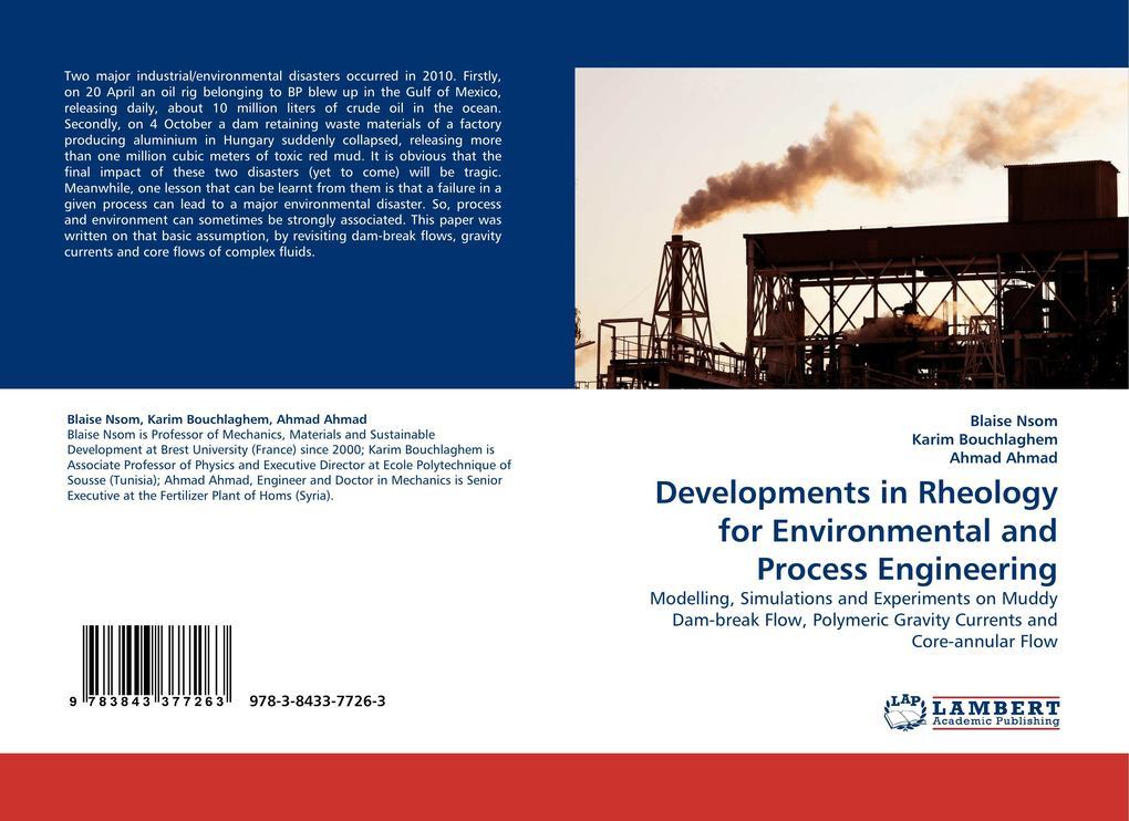 Developments in Rheology for Environmental and Process Engineering als Buch (kartoniert)