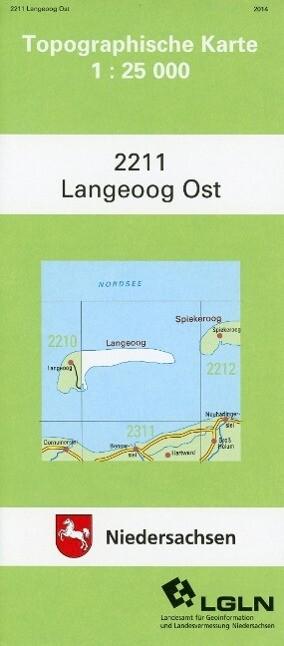 Langeoog Ost 1 : 25 000. (TK 2211/N) als Buch