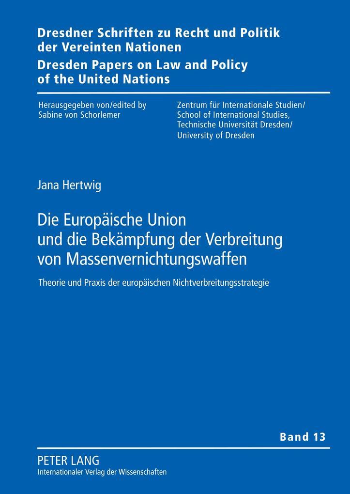 Die Europäische Union und die Bekämpfung der Ve...