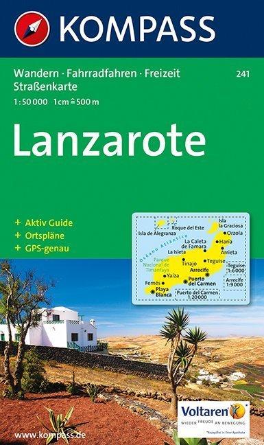 Lanzarote 1 : 50 000 als Buch