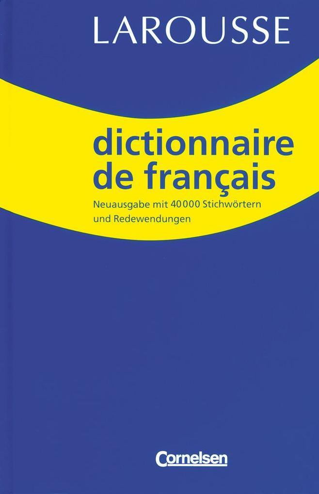 Dictionnaire de Francais als Buch