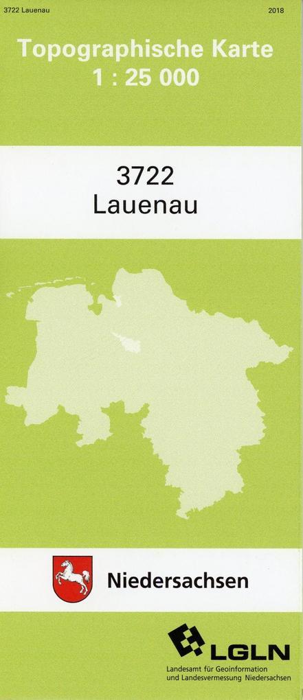 Lauenau 1 : 25 000. (TK 3722/N) als Buch