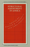 Structural Adjustment in Africa