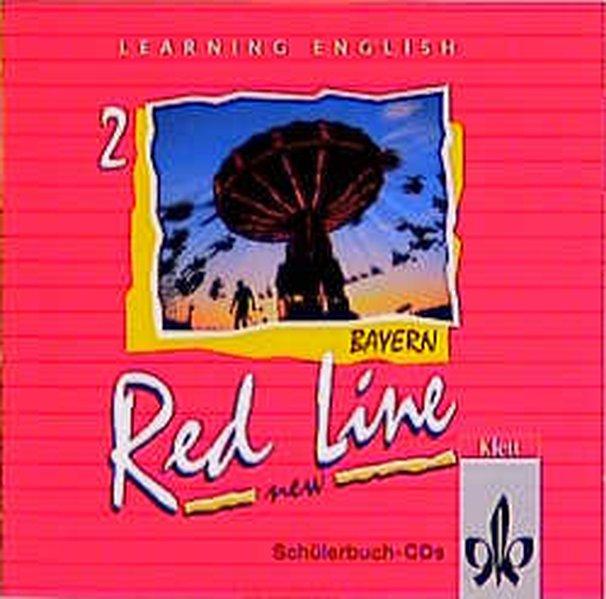 Red Line New 2. Schüler-Audio-CD. Bayern als Hörbuch