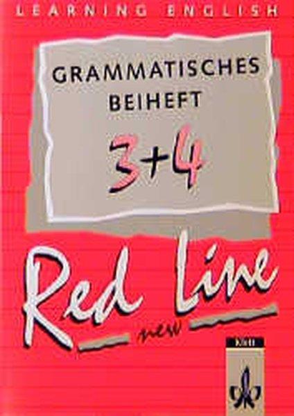 Red Line New 3 und 4. Grammatisches Beiheft als Buch