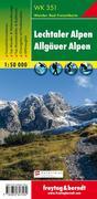 Lechtaler, Allgäuer Alpen 1 : 50 000