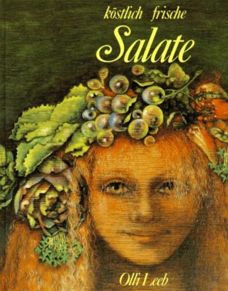 Köstlich frische Salate als Vorspeise als Buch