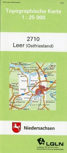 Leer (Ostfriesland) 1 : 25 000 (TK25 2710/NA) als Buch