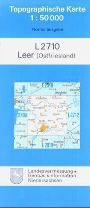 Leer ( Ostfriesland) 1 : 50 000 als Buch