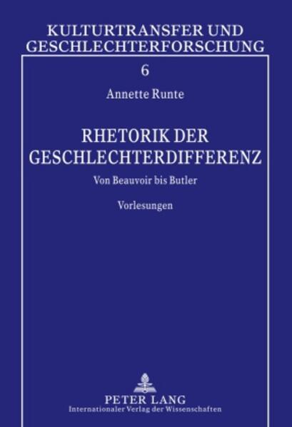 Rhetorik der Geschlechterdifferenz als Buch (gebunden)