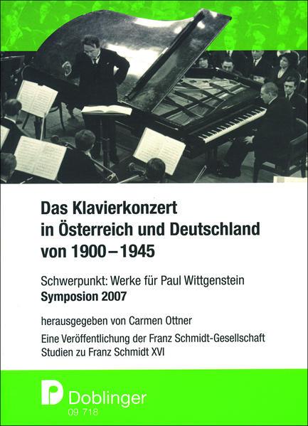 Studien zu Franz Schmidt. Das Klavierkonzert in...