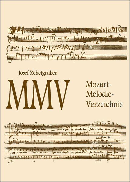 MMV - Mozart-Melodie-Verzeichnis als Buch von J...