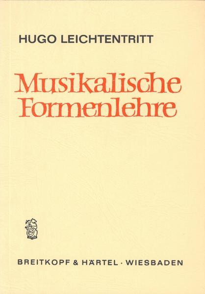 Musikalische Formenlehre als Buch