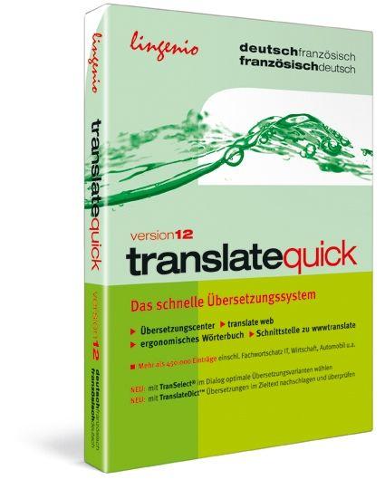 translate quick 12. Deutsch-Französisch / Franz...