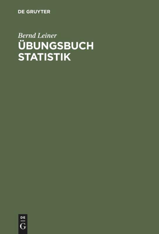 'ungsbuch Statistik als Buch