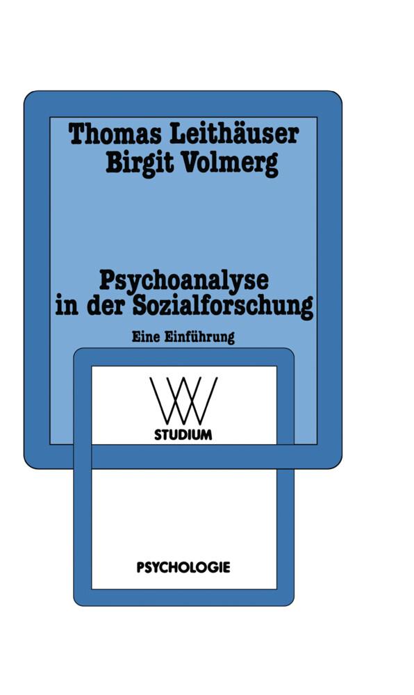 Psychoanalyse in der Sozialforschung als Taschenbuch