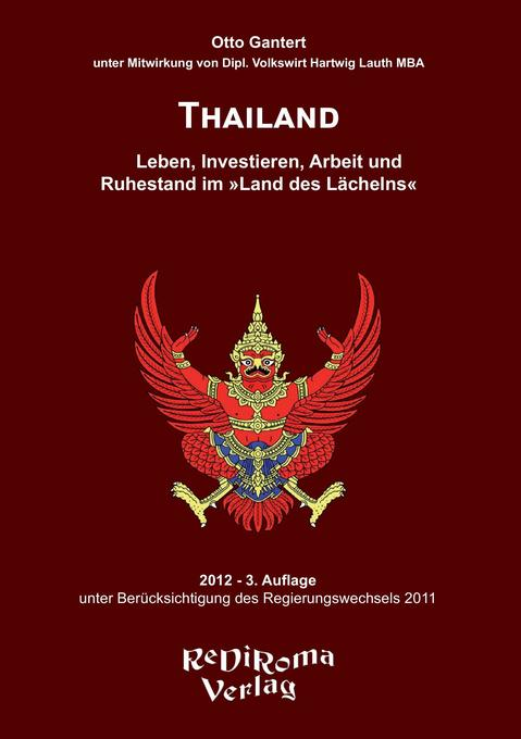Thailand als Buch von Otto Gantert