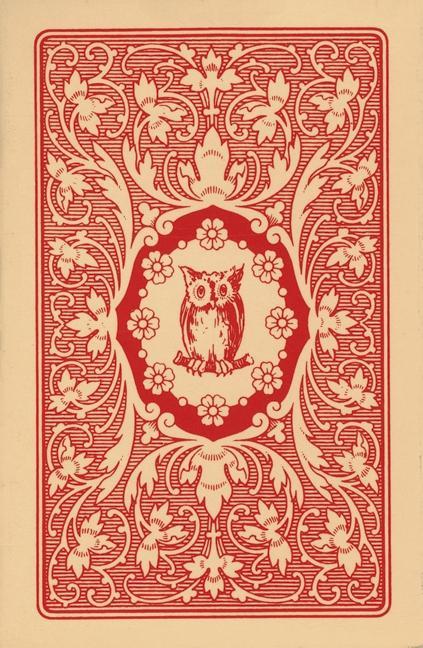 Lenormand Orakelkarten - rote Eule als Buch