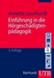 Einführung die Hörgeschädigtenpädagogik als Buch