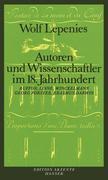 Autoren und Wissenschaftler im 18. Jahrhundert