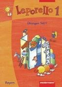 Leporello 1. Sprach-Lese-Buch. Übungen Teil 1 und 2. Bayern