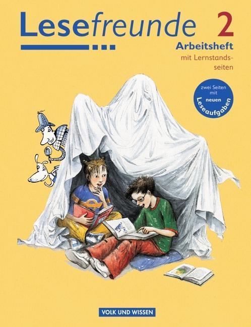 Lesefreunde 2. Schuljahr. Arbeitsheft als Buch